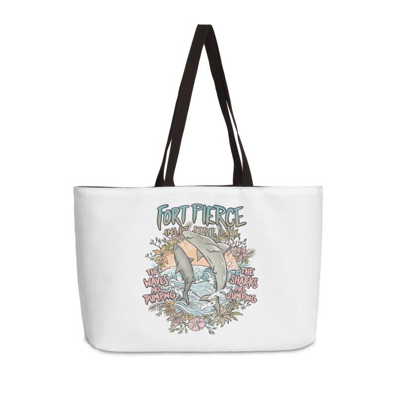 Spinner City Accessories Weekender Bag Bag by Chapman at Sea // surf art by Tash Chapman