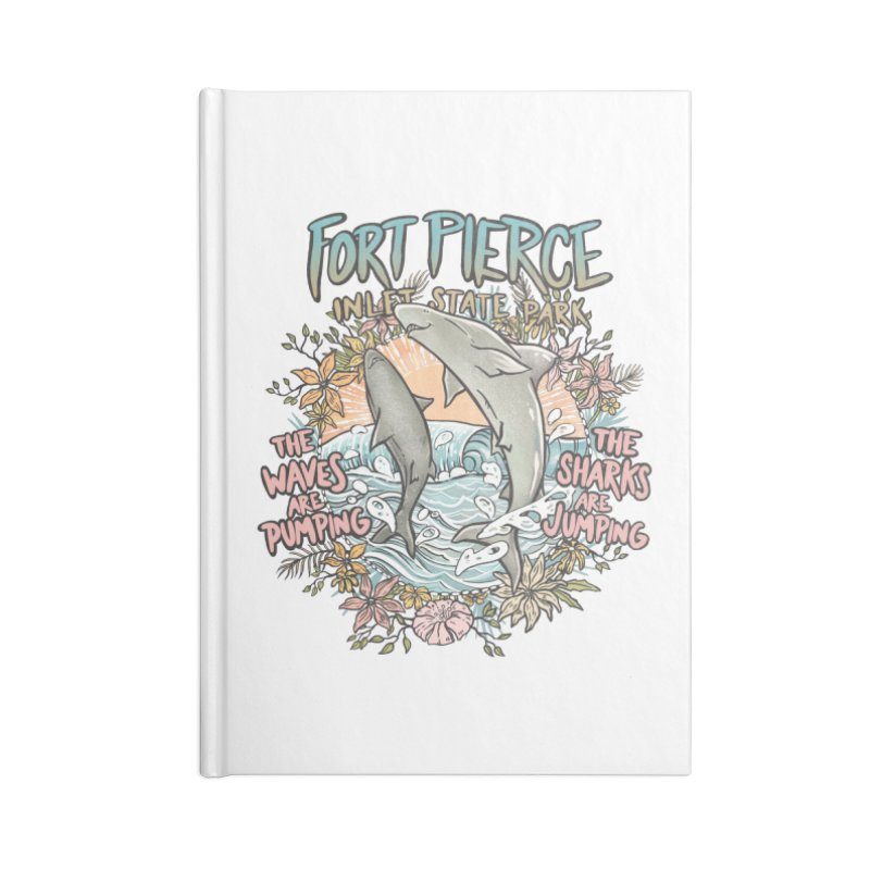 Spinner City Accessories Notebook by Chapman at Sea // surf art by Tash Chapman