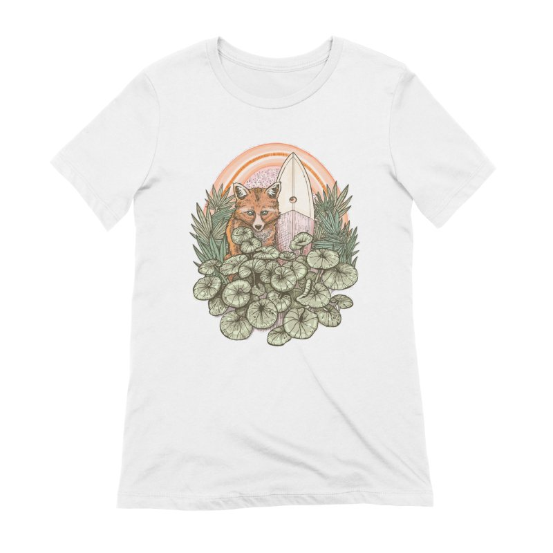 Retro Rider Women's T-Shirt by Chapman at Sea // surf art by Tash Chapman