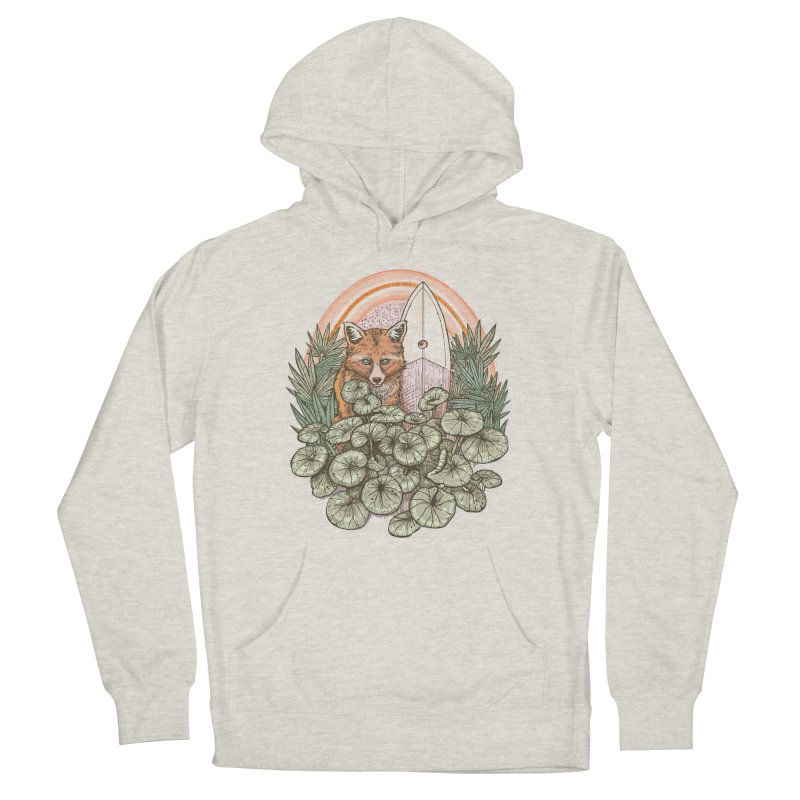 Retro Rider Men's Pullover Hoody by Chapman at Sea // surf art by Tash Chapman