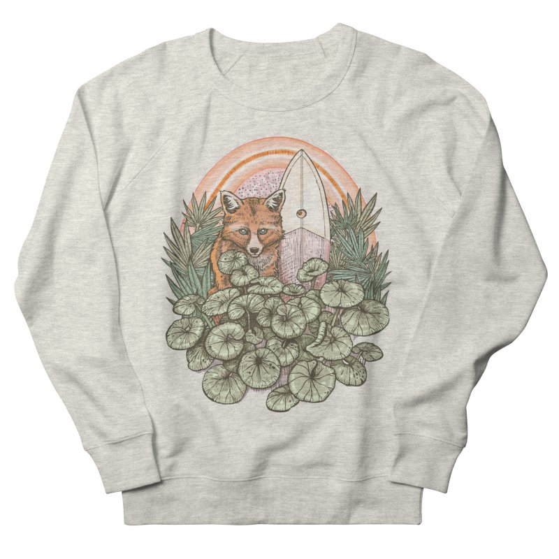 Retro Rider Women's Sweatshirt by Chapman at Sea // surf art by Tash Chapman