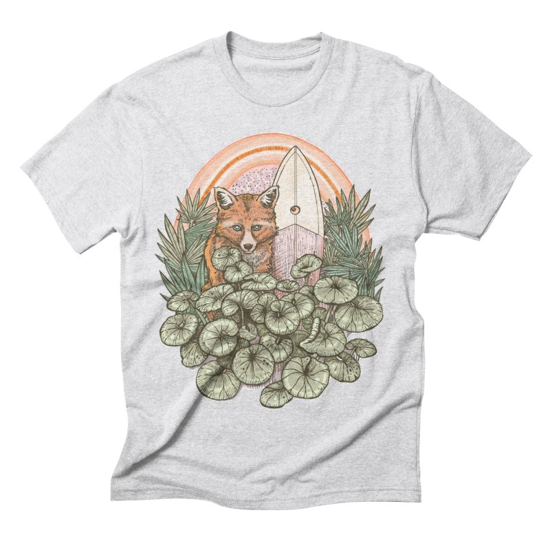 Retro Rider Men's Triblend T-Shirt by Chapman at Sea // surf art by Tash Chapman