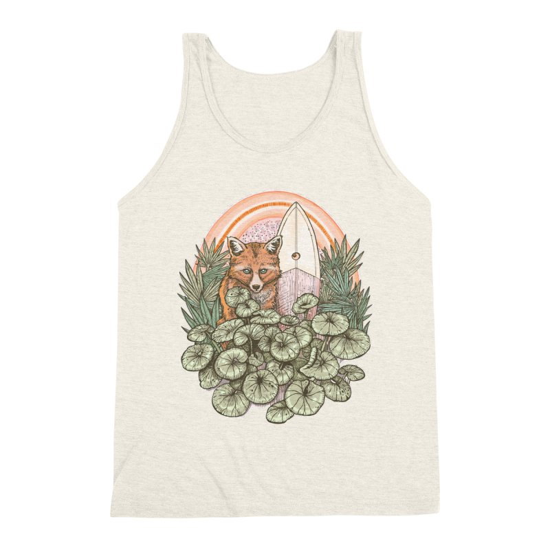 Retro Rider Men's Triblend Tank by Chapman at Sea // surf art by Tash Chapman
