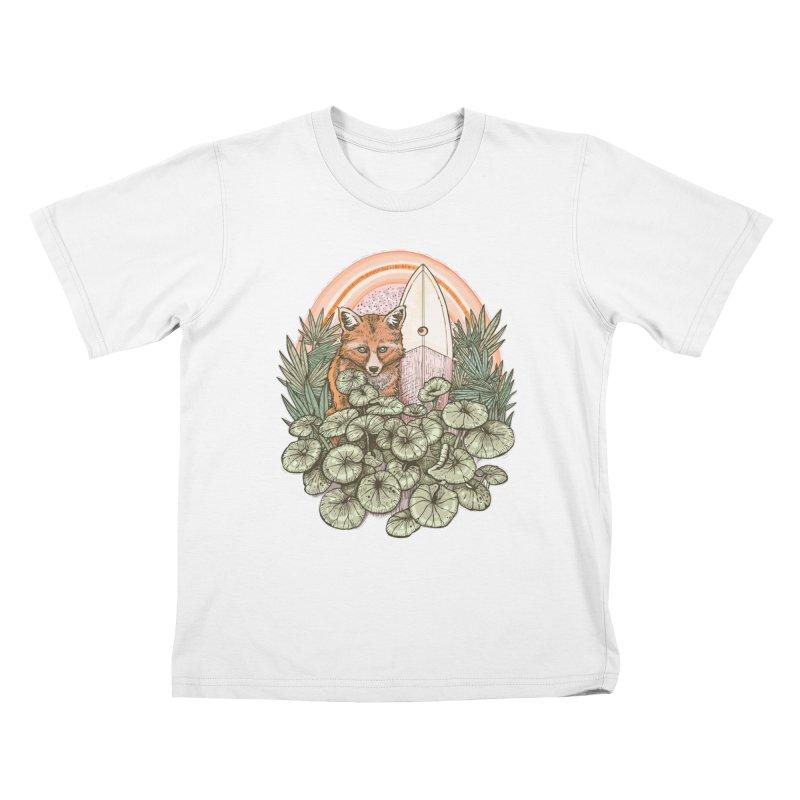 Retro Rider Kids T-Shirt by Chapman at Sea // surf art by Tash Chapman