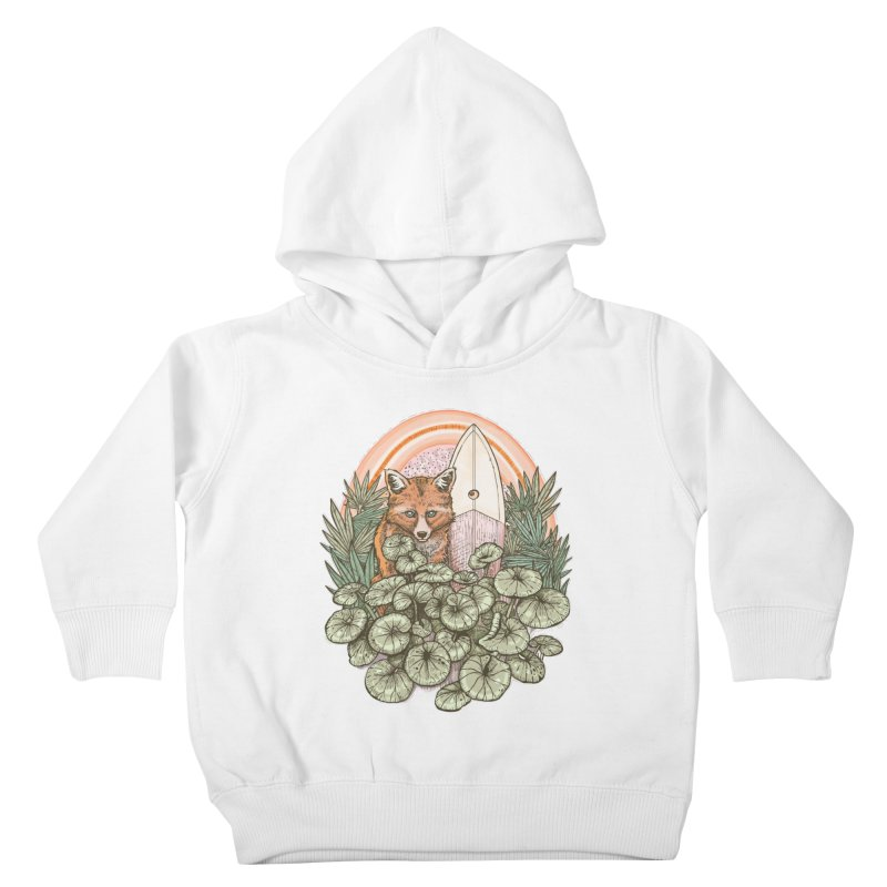 Retro Rider Kids Toddler Pullover Hoody by Chapman at Sea // surf art by Tash Chapman