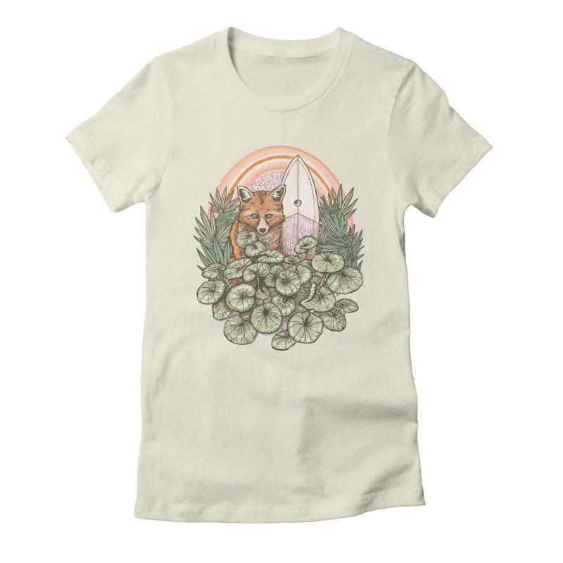 Retro Rider Women's T-Shirt by Chapman at Sea // surf art by Tash Chapman