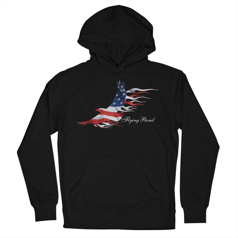 Flying  Proud Men's French Terry Pullover Hoody by Taterskinz
