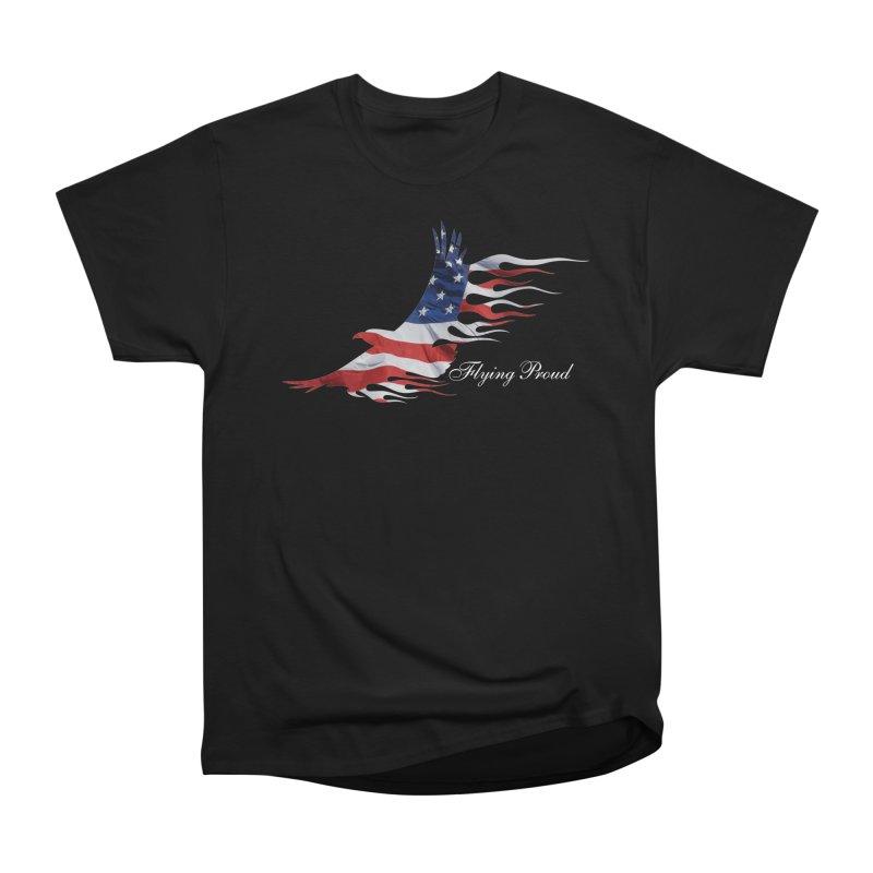 Flying  Proud Women's Heavyweight Unisex T-Shirt by Taterskinz
