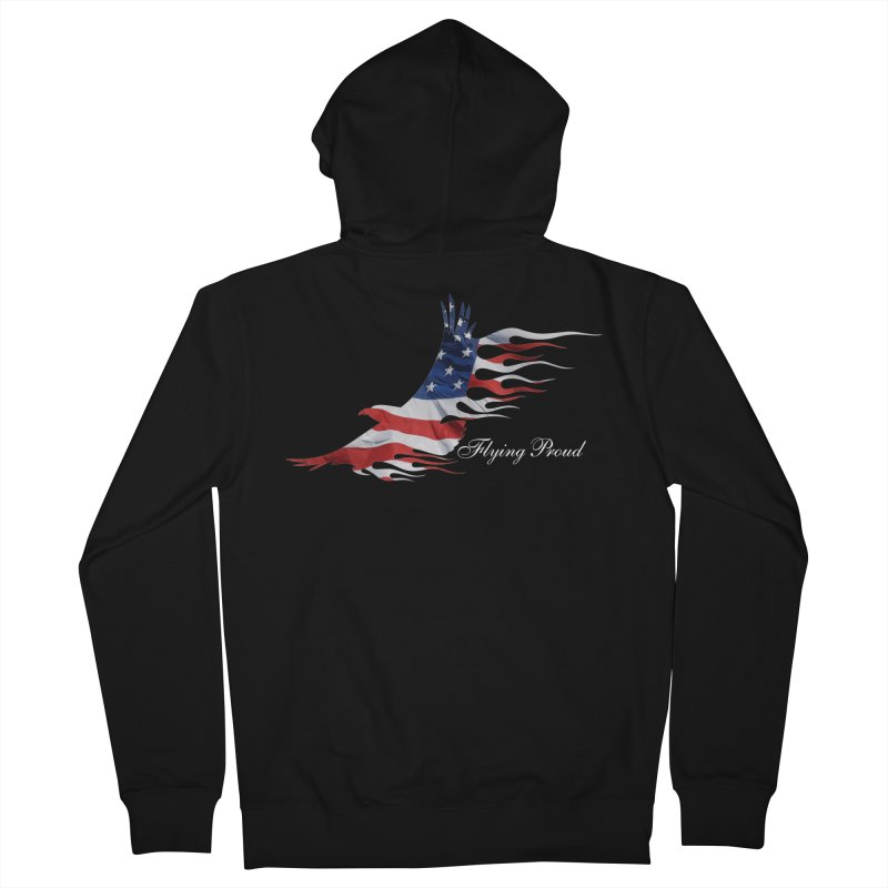 Flying  Proud Women's French Terry Zip-Up Hoody by Taterskinz