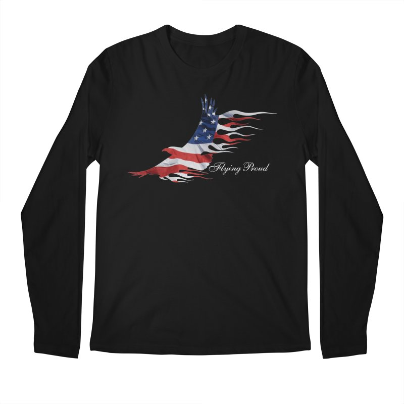 Flying  Proud Men's Regular Longsleeve T-Shirt by Taterskinz