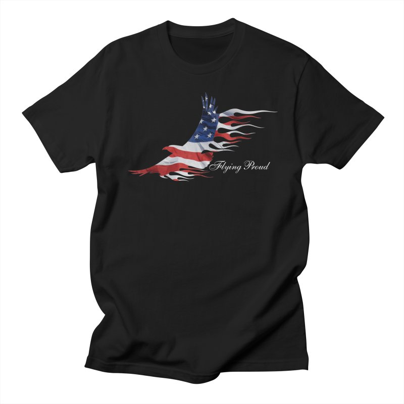 Flying  Proud Men's Regular T-Shirt by Taterskinz
