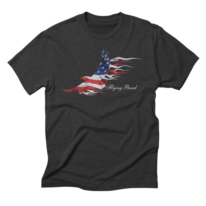 Flying  Proud Men's Triblend T-Shirt by Taterskinz