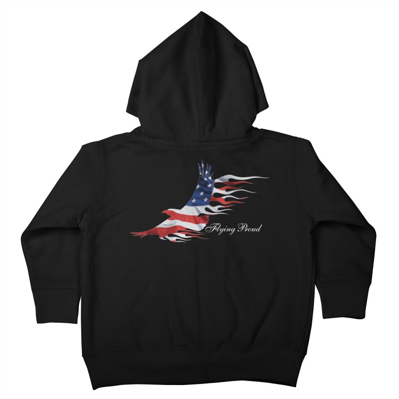 Flying  Proud Kids Toddler Zip-Up Hoody by Taterskinz