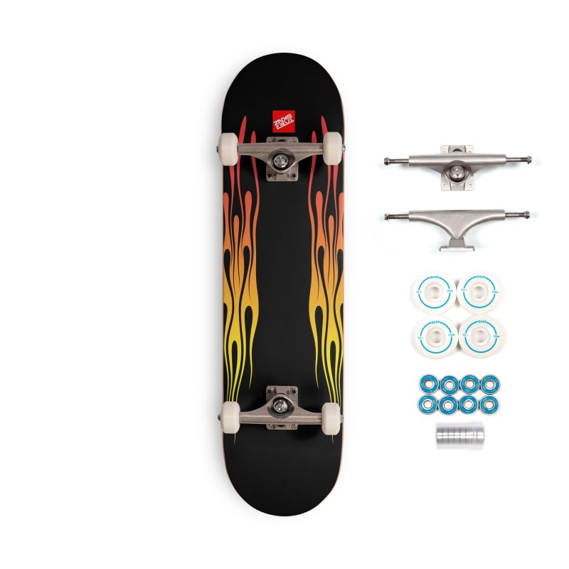 TaterSkinz Flame Job Accessories Skateboard by Taterskinz