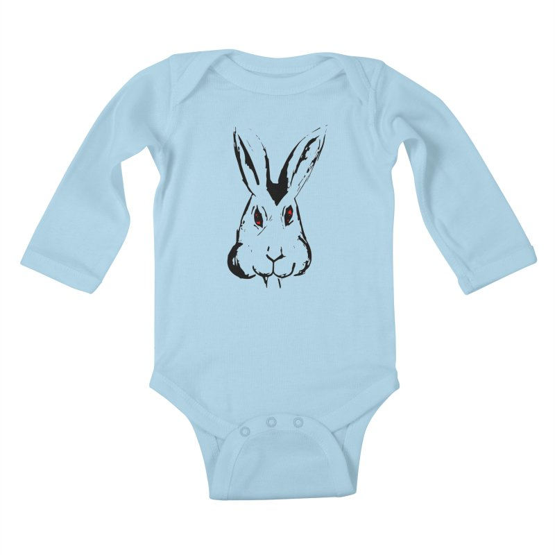Bunnicula Kids Baby Longsleeve Bodysuit by TaylorHoyum's Artist Shop