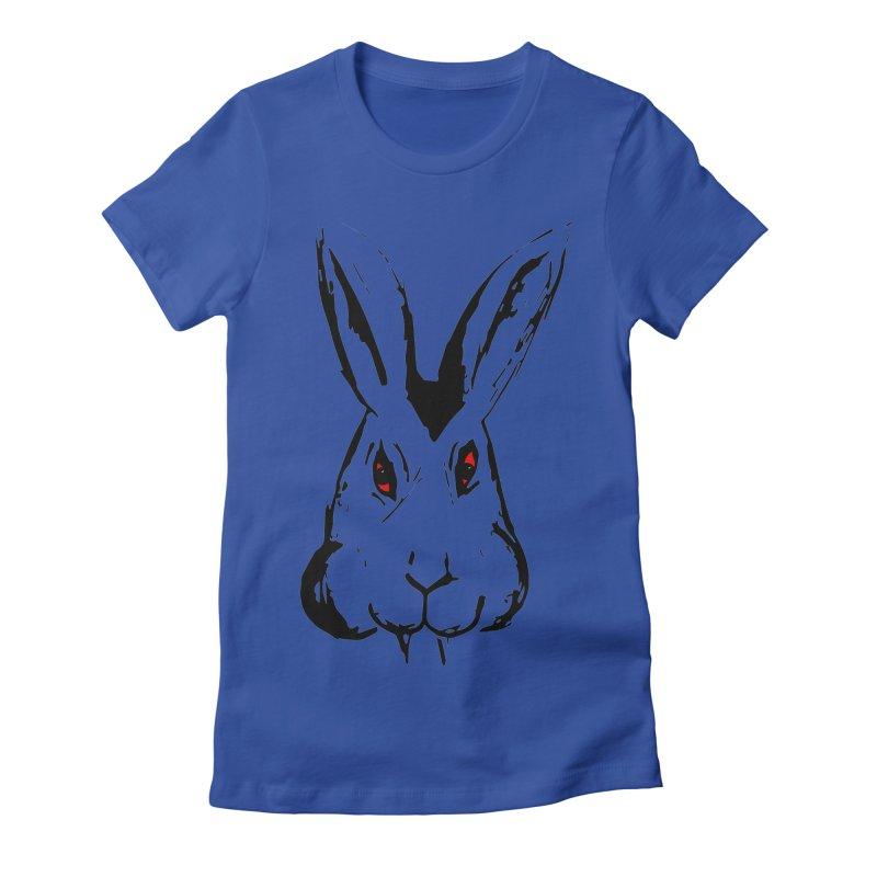 Bunnicula Women's Fitted T-Shirt by TaylorHoyum's Artist Shop
