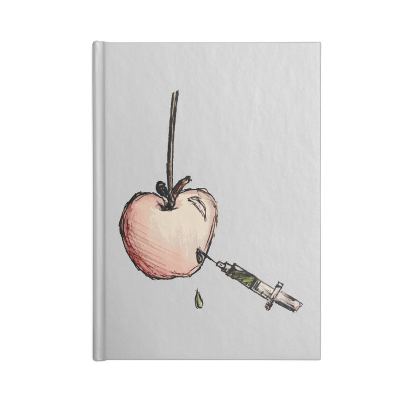 Poison Apple Accessories Lined Journal Notebook by TaylorHoyum's Artist Shop