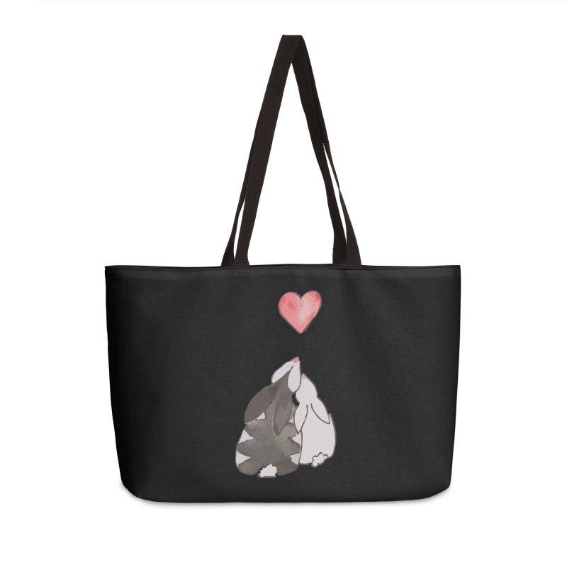 Love Bunnies Accessories Weekender Bag Bag by TaylorHoyum's Artist Shop