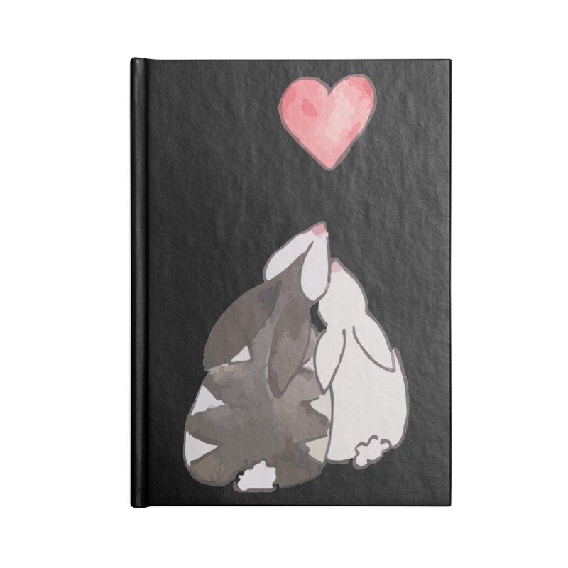 Love Bunnies Accessories Lined Journal Notebook by TaylorHoyum's Artist Shop