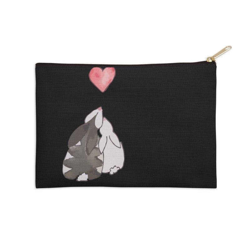 Love Bunnies Accessories Zip Pouch by TaylorHoyum's Artist Shop