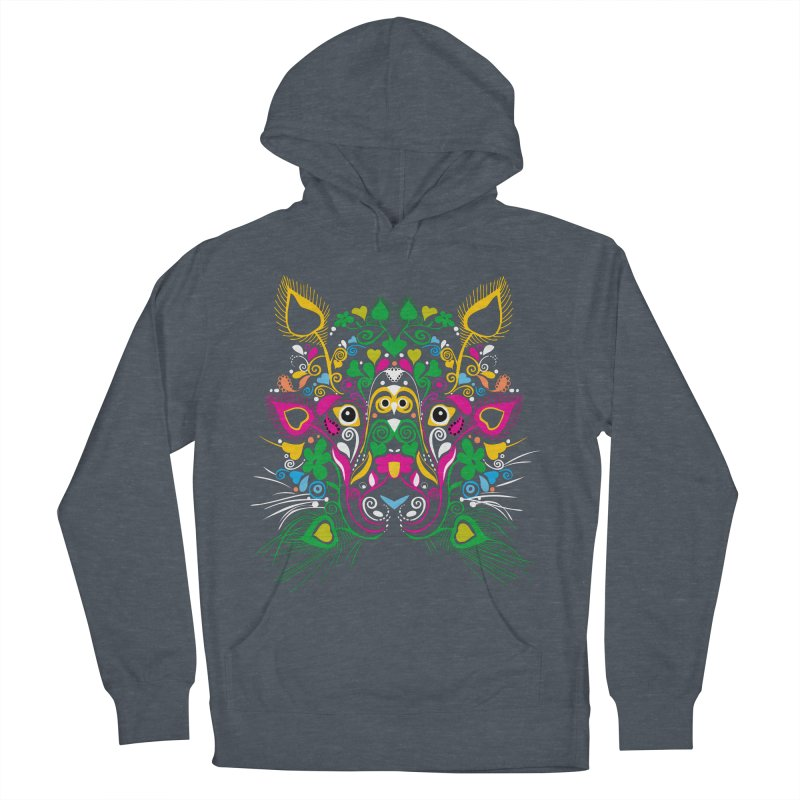 Paradolia Zoo Men's Pullover Hoody by Teeloo's Artist Shop