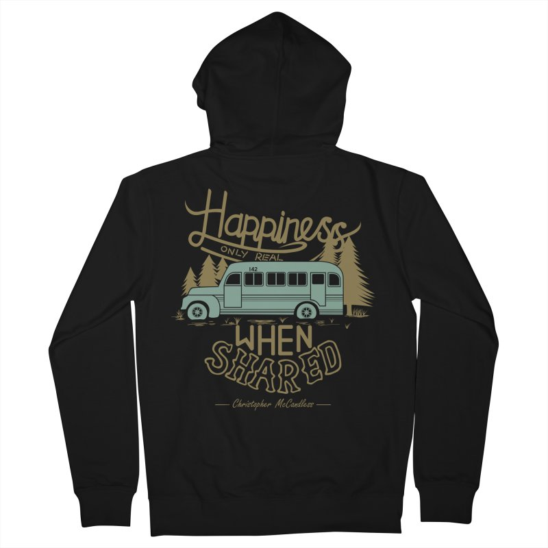 Happiness Women's Zip-Up Hoody by Teetalk Artist Shop