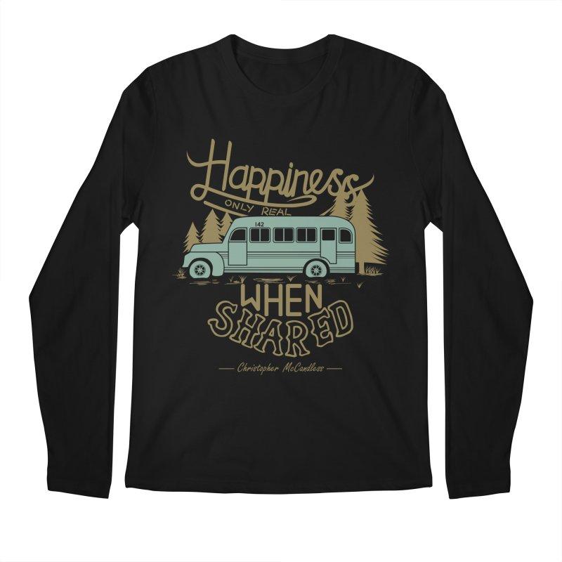 Happiness Men's Longsleeve T-Shirt by Teetalk Artist Shop