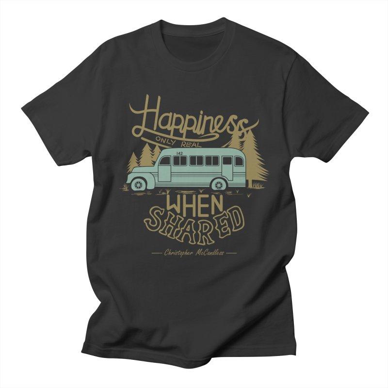 Happiness Women's Unisex T-Shirt by Teetalk Artist Shop