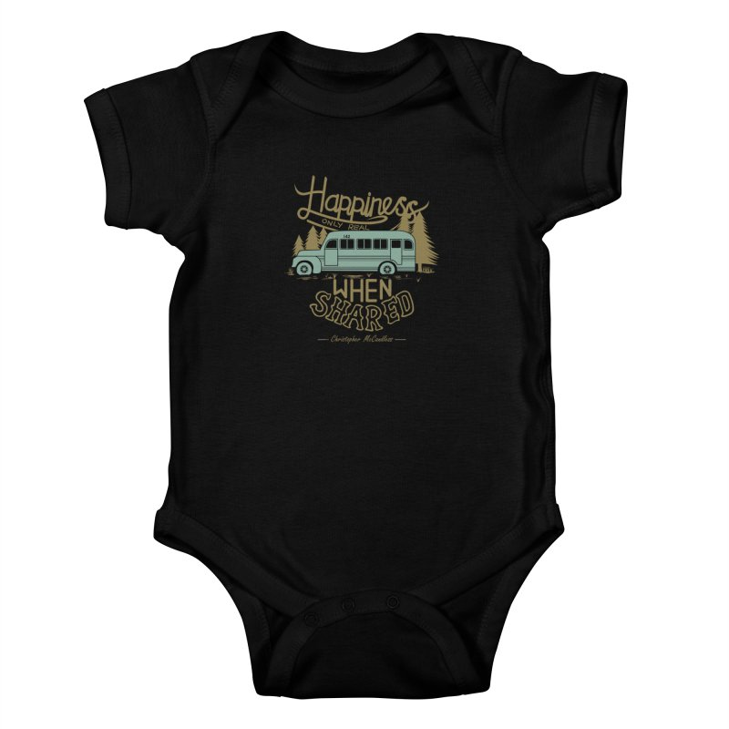 Happiness Kids Baby Bodysuit by Teetalk Artist Shop
