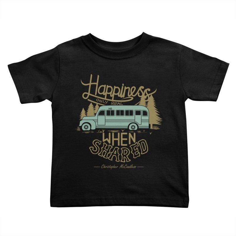 Happiness Kids Toddler T-Shirt by Teetalk Artist Shop
