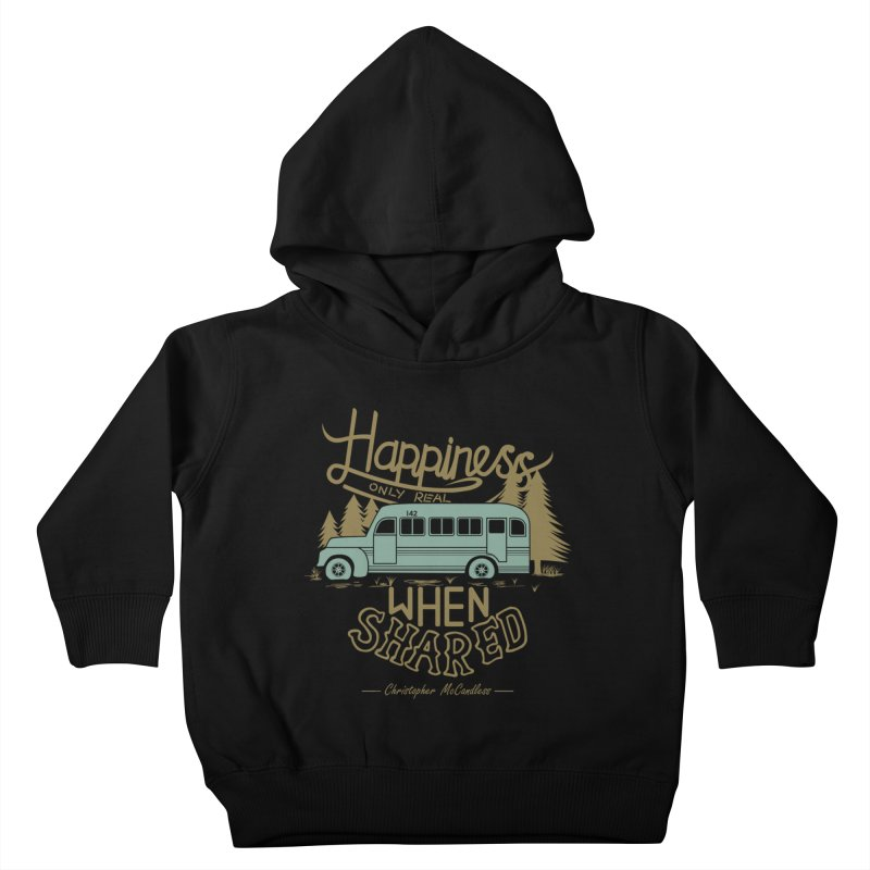 Happiness Kids Toddler Pullover Hoody by Teetalk Artist Shop