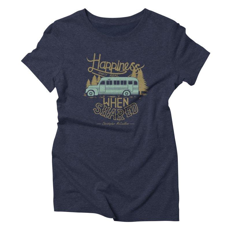 Happiness Women's Triblend T-Shirt by Teetalk Artist Shop