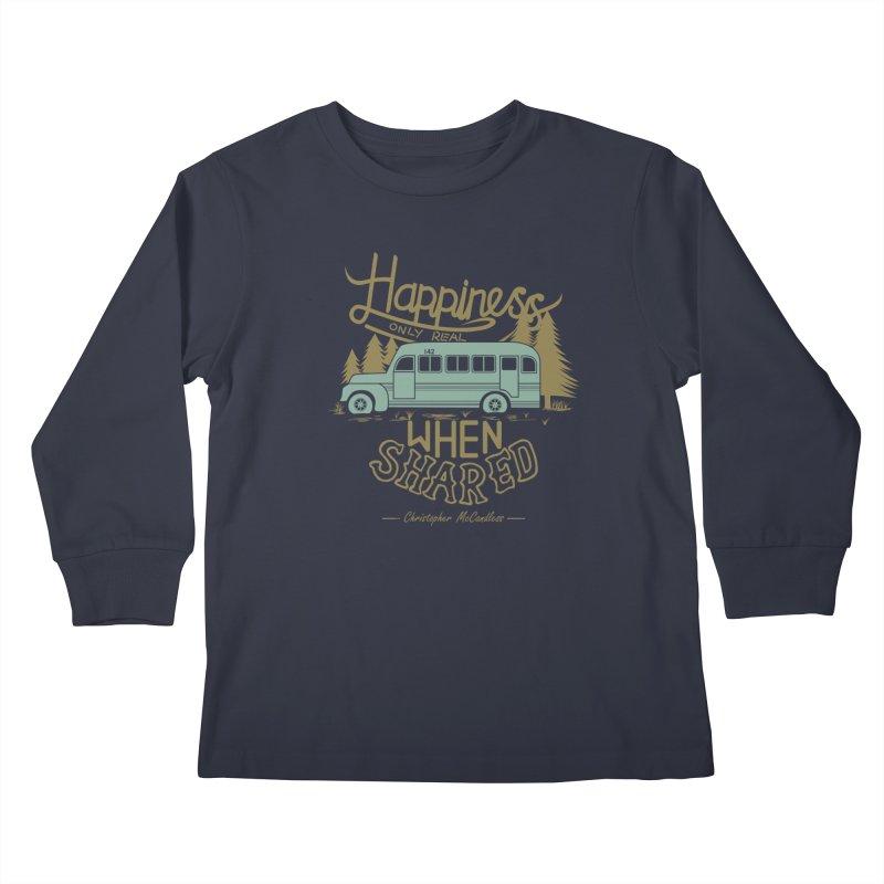 Happiness Kids Longsleeve T-Shirt by Teetalk Artist Shop