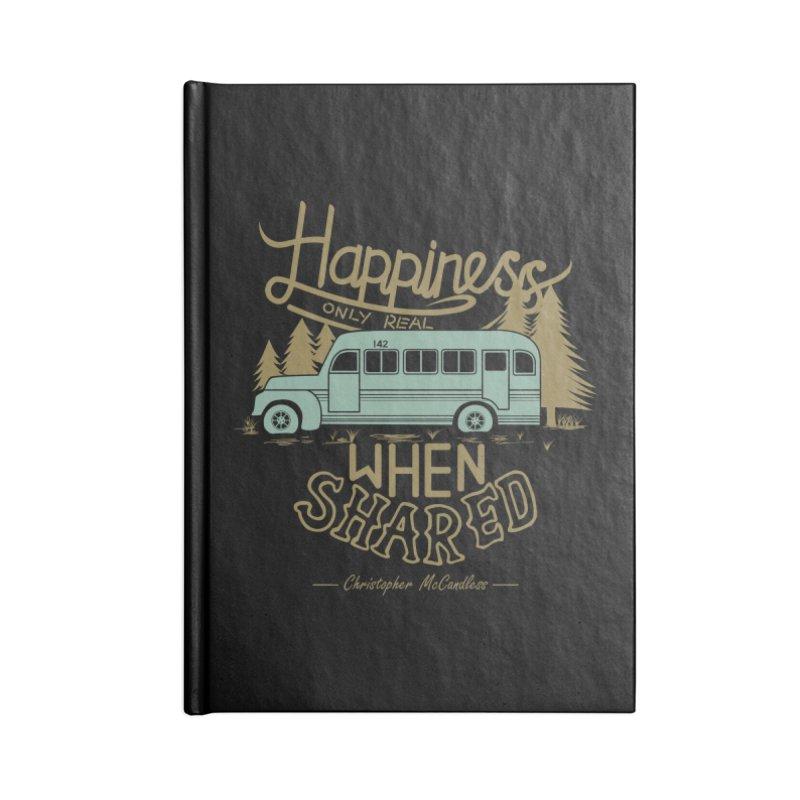 Happiness Accessories Notebook by Teetalk Artist Shop