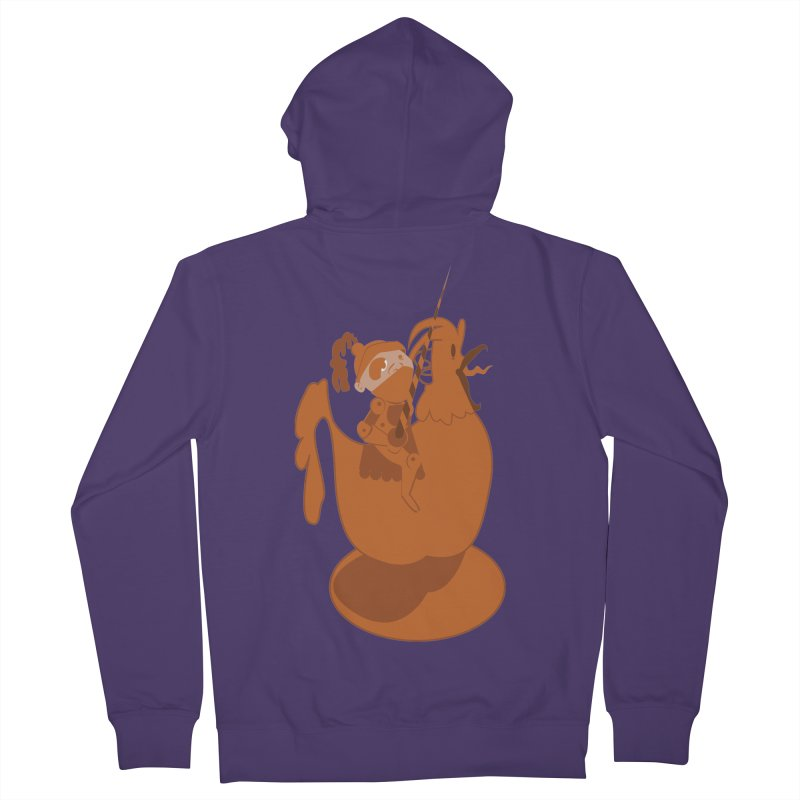 Knights aren't Chicken Women's Zip-Up Hoody by TenAnchors's Artist Shop