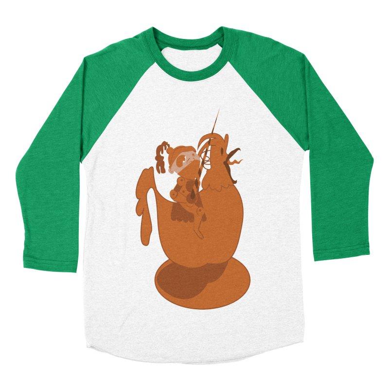 Knights aren't Chicken Women's Baseball Triblend T-Shirt by TenAnchors's Artist Shop