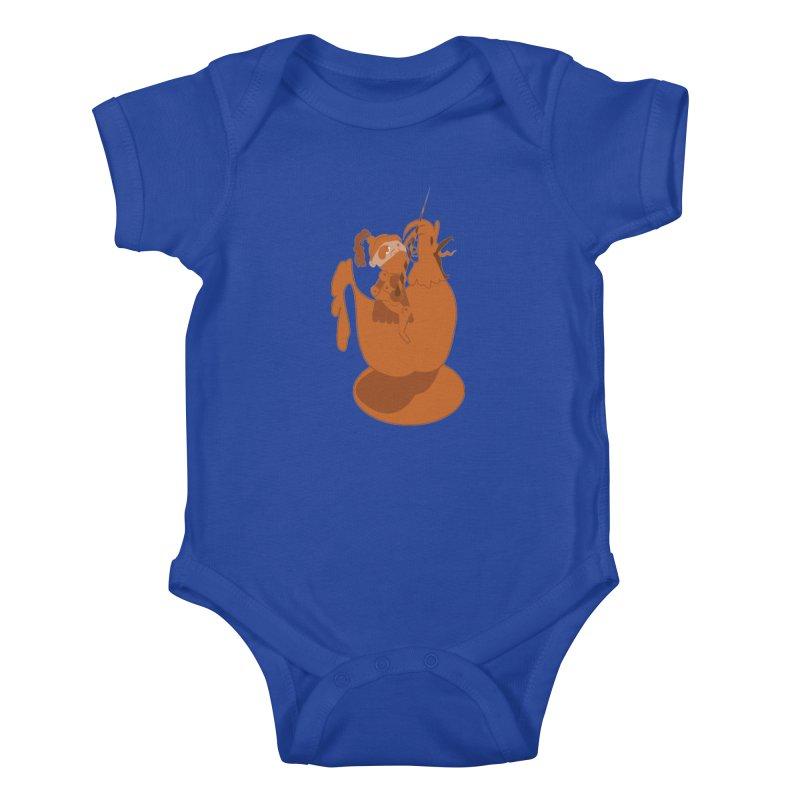 Knights aren't Chicken Kids Baby Bodysuit by TenAnchors's Artist Shop