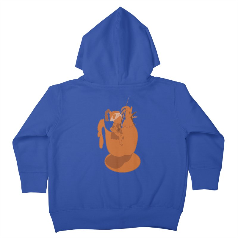 Knights aren't Chicken Kids Toddler Zip-Up Hoody by TenAnchors's Artist Shop