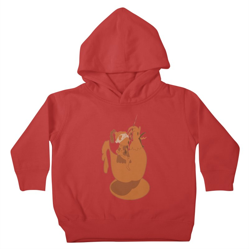 Knights aren't Chicken Kids Toddler Pullover Hoody by TenAnchors's Artist Shop