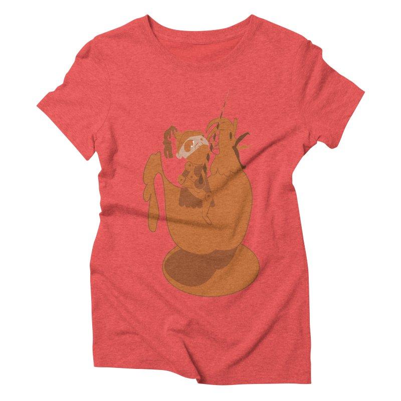 Knights aren't Chicken Women's Triblend T-Shirt by TenAnchors's Artist Shop