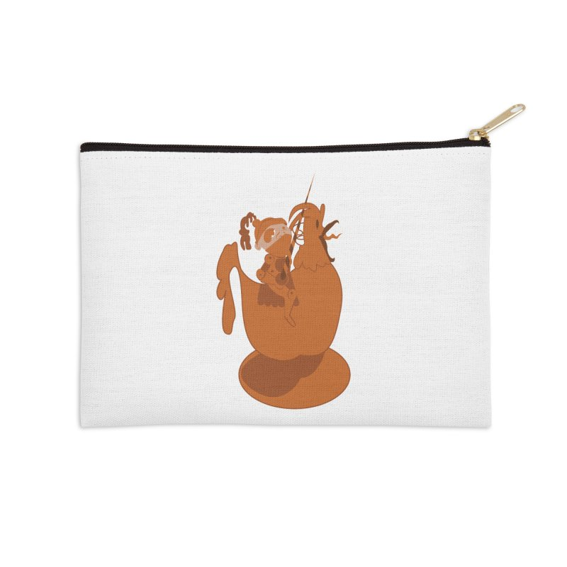 Knights aren't Chicken Accessories Zip Pouch by TenAnchors's Artist Shop