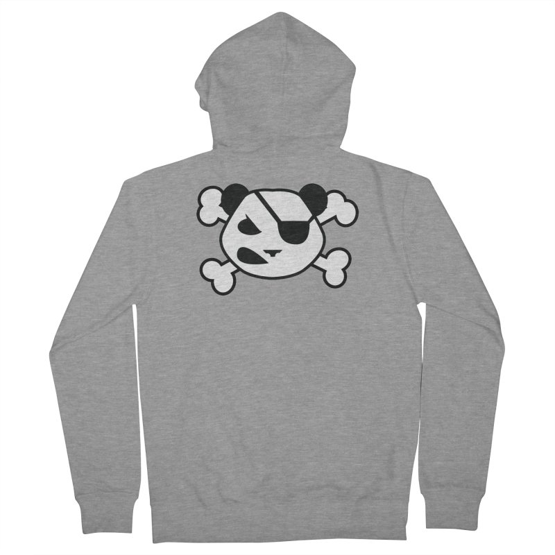 The Fearless Panda Women's Zip-Up Hoody by TenAnchors's Artist Shop