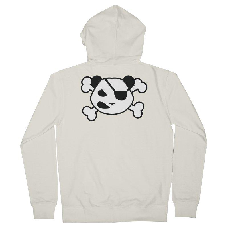 The Fearless Panda Women's Zip-Up Hoody by TenAnchors's Artist Shop
