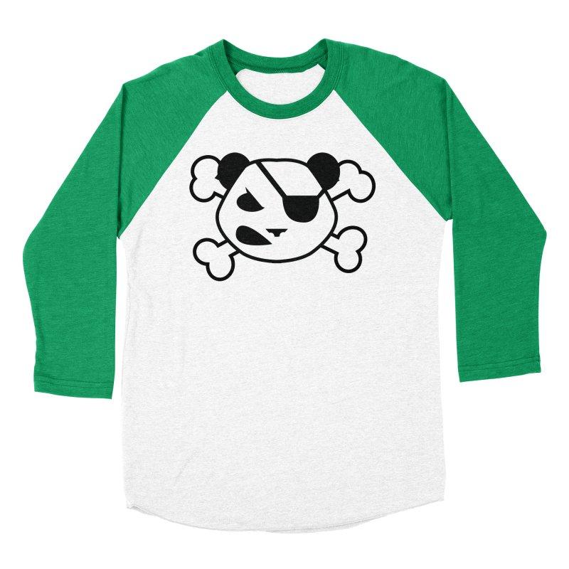 The Fearless Panda Women's Baseball Triblend T-Shirt by TenAnchors's Artist Shop