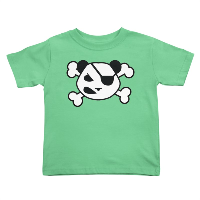 The Fearless Panda Kids Toddler T-Shirt by TenAnchors's Artist Shop