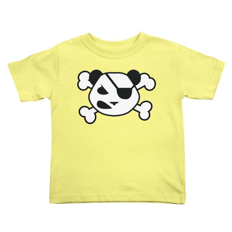 The Fearless Panda Kids Toddler T-Shirt by TenAnchors's Artist Shop