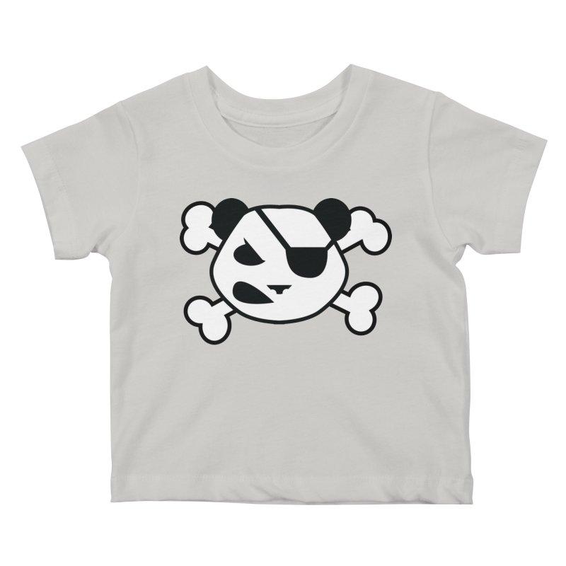 The Fearless Panda Kids Baby T-Shirt by TenAnchors's Artist Shop