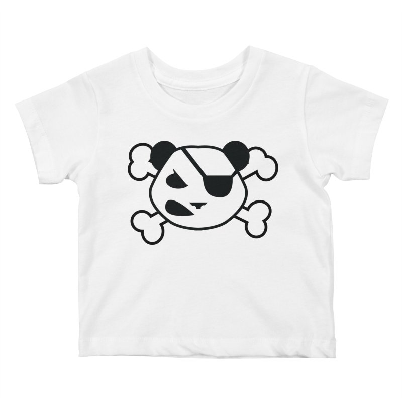 The Fearless Panda Kids Baby T-Shirt by TenAnchors's Artist Shop