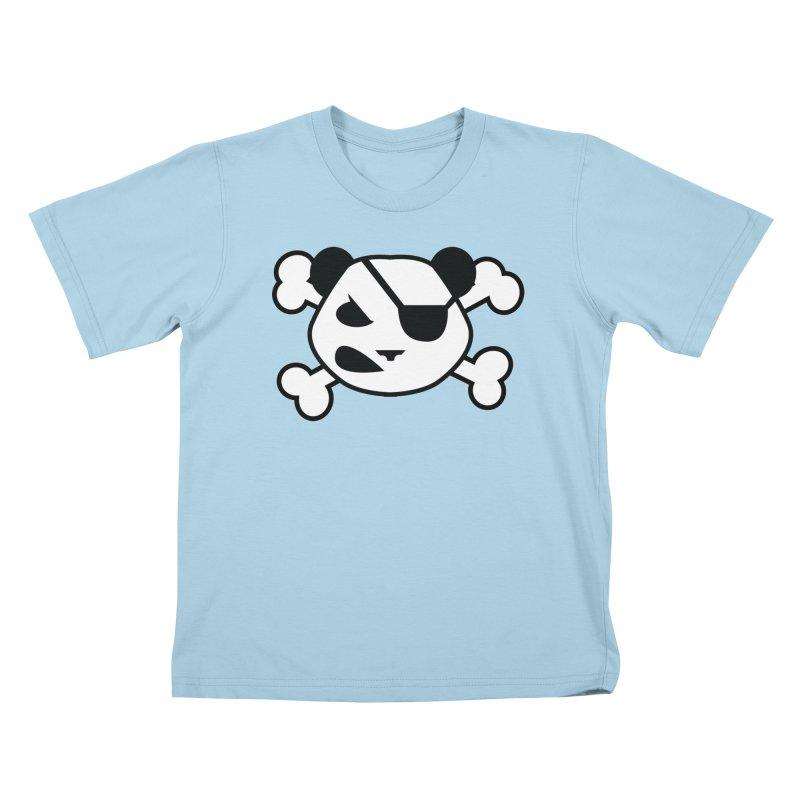 The Fearless Panda Kids T-Shirt by TenAnchors's Artist Shop