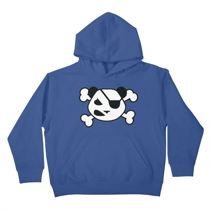 The Fearless Panda Kids Pullover Hoody by TenAnchors's Artist Shop